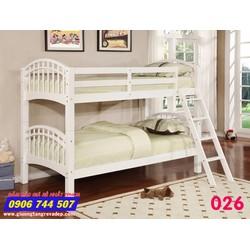 Giường 2 tầng trẻ em giá rẻ 026