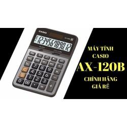 Máy tính Casio AX 120B để bàn cỡ trung