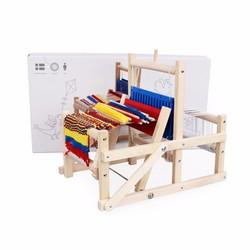 Máy dệt len mini thủ công DIY bằng gỗ