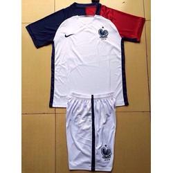 Áo bóng đá đội tuyển Pháp trắng