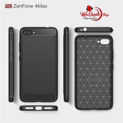 Ốp lưng Asus Zenfone 4 Max Pro ZC554KL chống sốc vân carbon