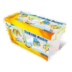 Thùng Gigo toys Xếp công viên 20 chủ đề 97 miếng ghép nhiều màu 7267