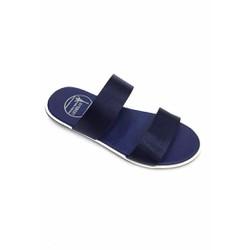 Dép sandal nam màu xanh 2 quai ngang  thời trang