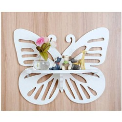 [FREE SHIP] kệ treo tường hình con bướm trắng