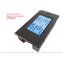 Đồng hồ đo Dòng, Áp, Công suất, Năng lượng AC Đa năng 20A