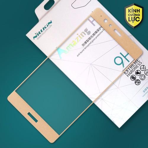 Kính cường lực Huawei P9 Lite Full Nillkin vàng