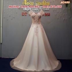 áo cưới dáng A nhẹ nhàng AC450