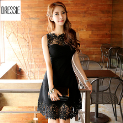 [HÌNH THẬT] Váy Đầm Ren Xòe Chữ A Đẹp Thời Trang Dự Tiệc Dạo Phố