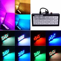 Đèn Chớp 18 Bóng LED 7 Màu Cảm Ứng Nhạc