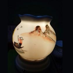 Đèn tinh dầu gốm sứ Bát Tràng