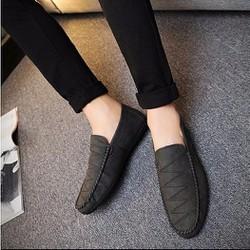 Giày lười da lộn mẫu mới 2017