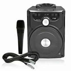 Loa Bluetooth P-88 P-89 cao cấp tặng kèm mic Karaoke