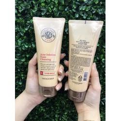 Sữa rửa mặt The Face Shop Acne Solution Foam Cleansing