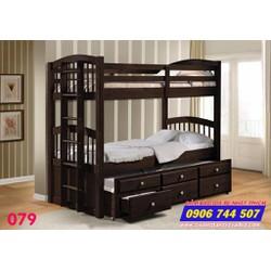 Giường 3 tầng trẻ em giá rẻ 079