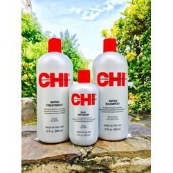 Bộ sản phẩm chăm sóc tóc khô và hư tổn CHI INFRA
