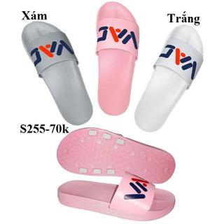 Dép nhựa nữ in chữ VAC chữ to - Dép nữ - Dép quai ngang - S255 thumbnail