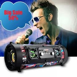 Loa Bluetooth Karaoke Nhật Super Bass