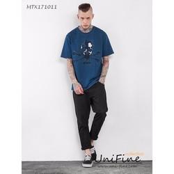 Áo thun nam in hinh - MTX171011