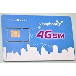 SIM VINAPHONE 4G NGHE GỌI MIỄN PHÍ KÈM 62GB DATA