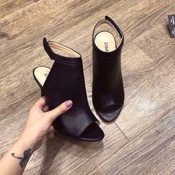 giày cao gót hở mũi nữ cực đẹp