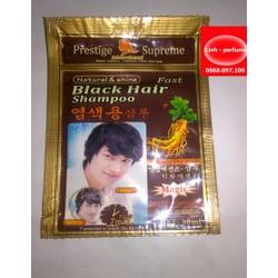 Dầu gội nhuộm tóc Black Hair shampoo