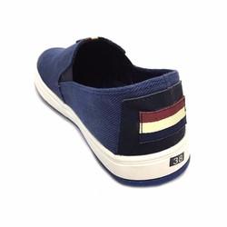 Giày lười nam  màu xanh đế trắng thời trang