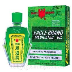 Eagle Brand Dầu Gió Xanh Hiệu Con Ó - 24ml