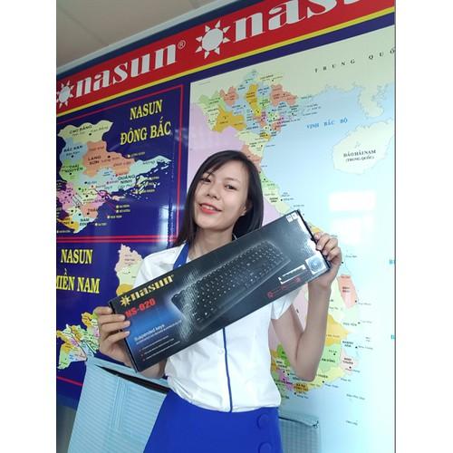 Bàn phím máy tính Nasun có dây cổng Usb NS-020 - 5086843 , 7250572 , 15_7250572 , 150000 , Ban-phim-may-tinh-Nasun-co-day-cong-Usb-NS-020-15_7250572 , sendo.vn , Bàn phím máy tính Nasun có dây cổng Usb NS-020