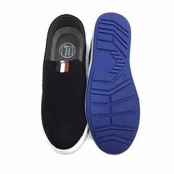 Giày lười nam màu đen thời trang