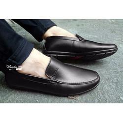 Giày lười da bò thật thời trang giá rẻ DT2