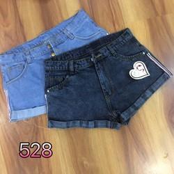 short jean lai sọc
