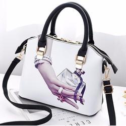 Túi xách thời trang nữ họa tiết Nice - LN1400