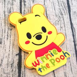 Ốp lưng iphone 5 5s hình gấu Pooh má hồng
