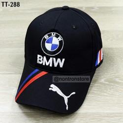 Nón thể thao BMW đen cao cấp