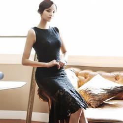 Đầm ren đuôi cá cực xinh