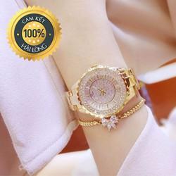 Đồng hồ nữ thời trang Beesister mặt đá xinh xắn