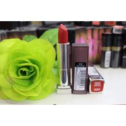 Maybeline đỏ cam Color  Creamy Matte Lipstick