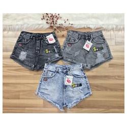 Quần short jeans nữ S387