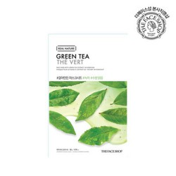 Mặt nạtrà xanhThe Face Shop Real Nature Mask #Green Tea