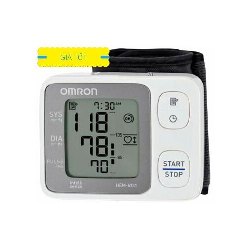 Máy đo huyết áp cổ tay Omron 6131 - 10455118 , 7258245 , 15_7258245 , 880000 , May-do-huyet-ap-co-tay-Omron-6131-15_7258245 , sendo.vn , Máy đo huyết áp cổ tay Omron 6131