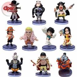 Trọn bộ 10 nhân vật One Piece - Mô hình One Piece