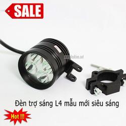 Đèn trợ sáng L4 mini dễ dàng lắp đặt