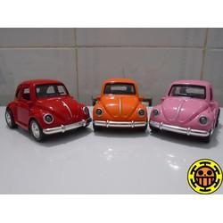 Mô hình xe ô tô volkswagen beetle có đèn và âm thanh mô phỏng