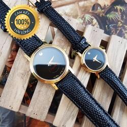 Đồng hồ đôi nam nữ MVD chống xước, chống nước