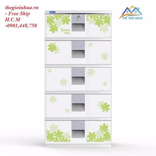 Tủ nhựa Duy Tân Sumi 5 ngăn TRẮNG- NEW - 4945445 , 7263270 , 15_7263270 , 1049000 , Tu-nhua-Duy-Tan-Sumi-5-ngan-TRANG-NEW-15_7263270 , sendo.vn , Tủ nhựa Duy Tân Sumi 5 ngăn TRẮNG- NEW