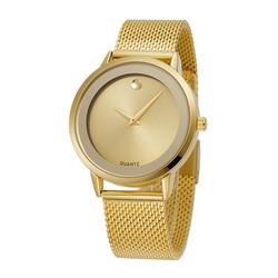 Đồng hồ thời trang nữ BELBI dây lưới thép không gỉ - Mã số: DHN1705