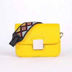 Túi xách thổ cẩm màu vàng siêu hot TX399