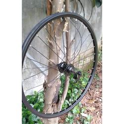 vành xe đạp cao cấp kèm moay ơ nhôm đan sẵn