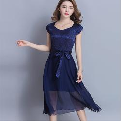 Đầm xòe thanh lịch - Hàng Quảng Châu