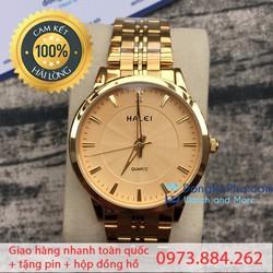 Đồng hồ nam giá rẻ Halei DD nhập khẩu chống xước, chống nước